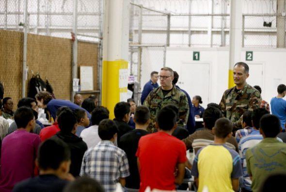 Escandalizó hace unas semanas que migrantes detenidos en la frontera de...