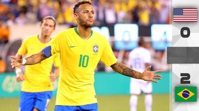 ¡Con 'jogo' bonito y pocas sorpresas! Brasil vence a domicilio al Team USA