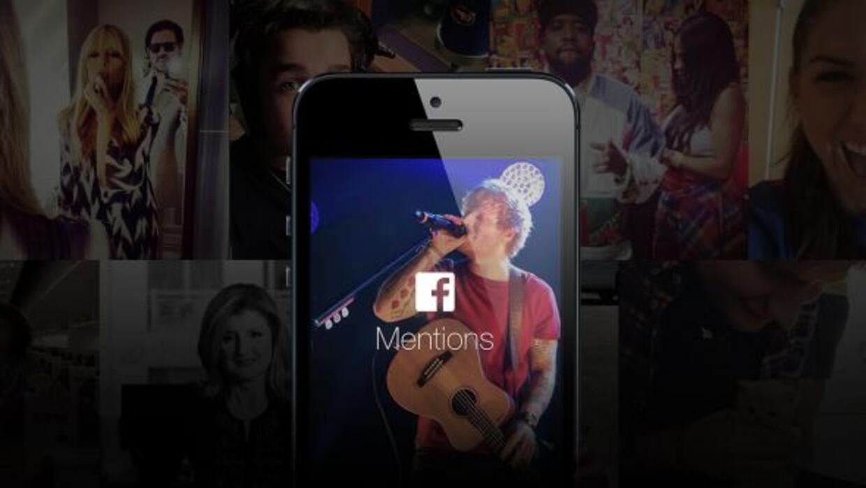 La nueva app de Facebook ya es utilizada por muchos famosos. (Foto: Face...