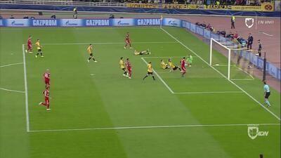 Muy cerca del primero del Bayern: Gnabry desbordó y Chygrynskiy casi mete un autogol