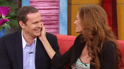 Alan le propuso matrimonio a su novia en pleno set de una novela