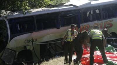 Un accidente carretero dejó al menos 19 muertos en Chile.
