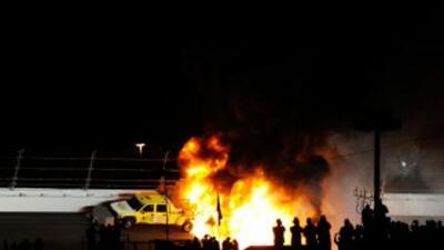 Juan Pablo Montoya, expiloto de Fórmula 1, sufrió un impactante accident...