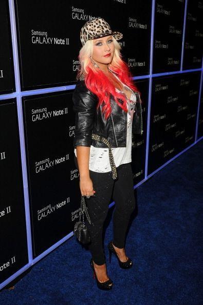 Creemos que además del 'look' de diva hollywoodense, Aguilera tuv...