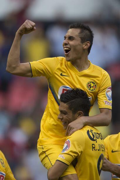 Paul Aguilar: El lateral derecho del América tuvo un muy buen partido an...