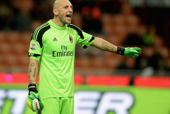 Otro de 37 años es Christian Abbiati, portero del Milán.