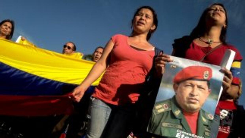 Las protestas persisten en Venezuela.