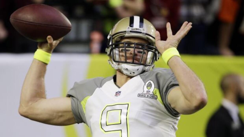 El quarterback se quedará en los Saints (AP-NFL).