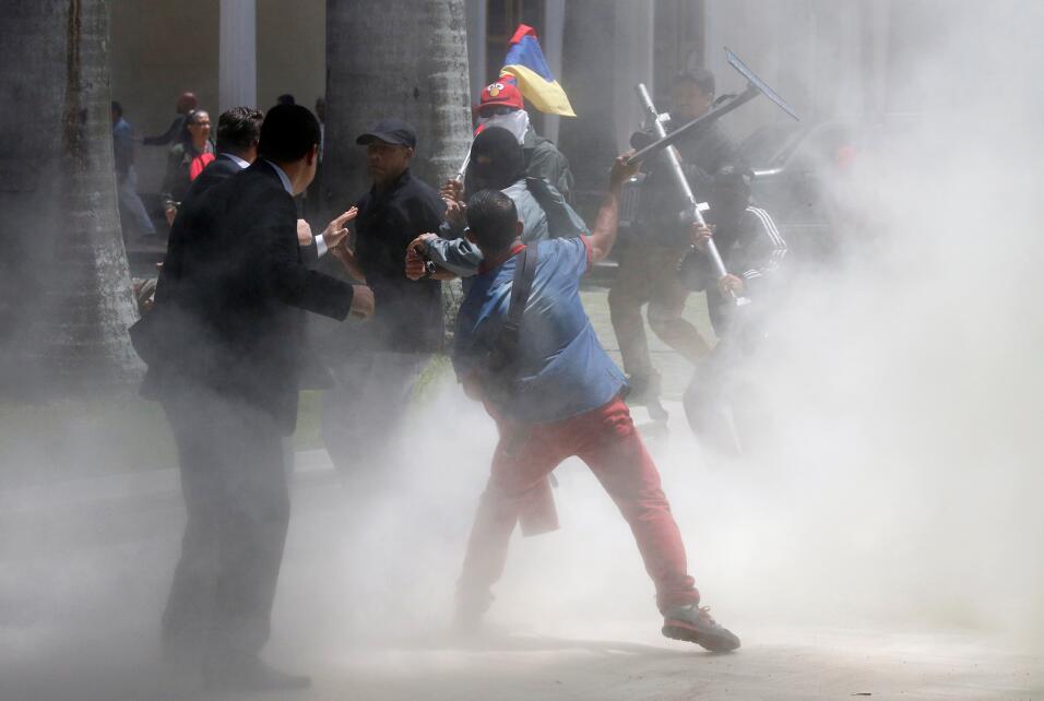 El primer vicepresidente de la Cámara, Freddy Guevara, acusó a la Guardi...