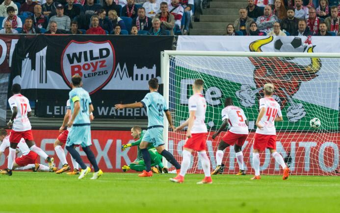 RB Leipzig 3-2 Porto: los alemanes le sacaron el resultado