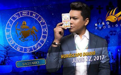 Niño Prodigio - Sagitario 22 de junio 2017