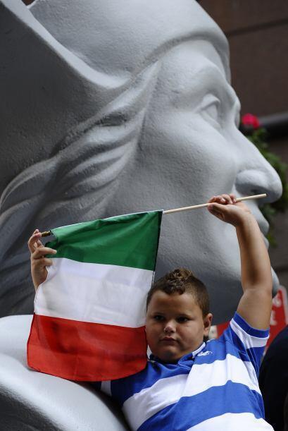 Banderas y carrozas adornaron la ciudad en un día especial para el Nuevo...