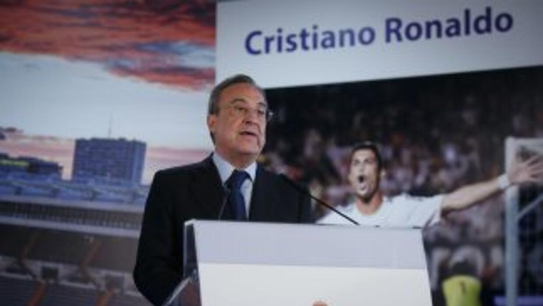 Florentino Mendoza, presidente del Real Madrid.