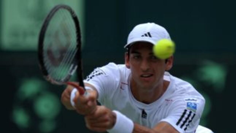 La promesa del tenis brasileño no logró superar la primera ronda del Tor...