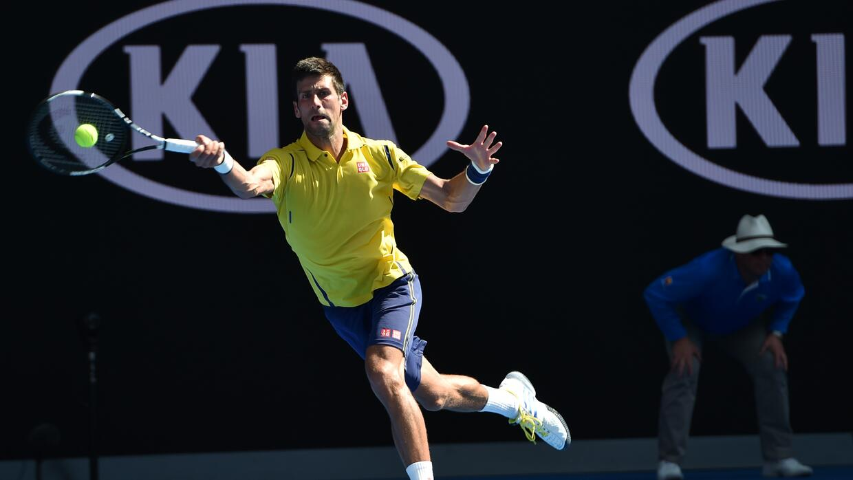 Djokovic derrota con facilidad a Chung
