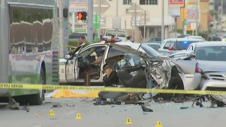 Identifican a víctima mortal de aparatoso accidente en Miami-Dade