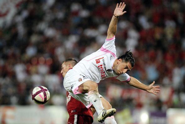 Lucas Mareque, defensor argentino del Lorient francés, no esperó invitac...