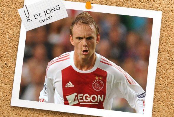 Del nuevo campeón de la Eredivisie, está el joven Siem de Jong.