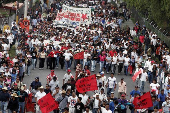 Dichos municipios están regidos por los zapatistas y administrados por c...