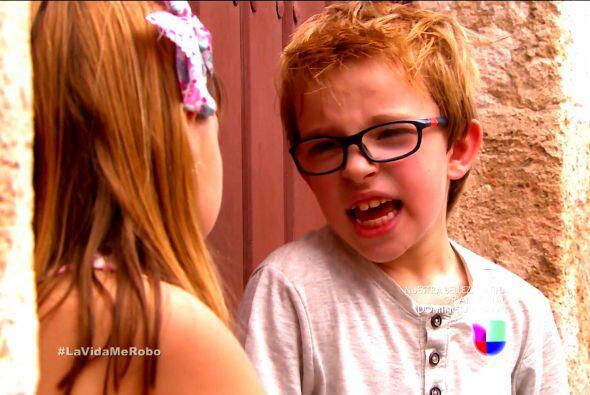 Laurito estuvo siete años sin conocer a su papá. Pero para...