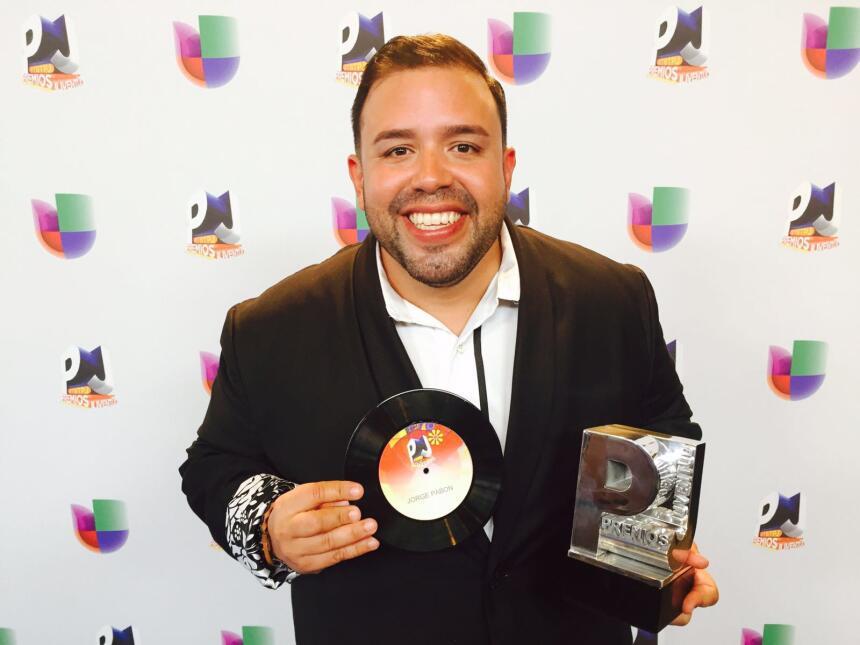 Jorge Pabón 'Molusco' gana premio Qué Actorazo en Premios Juventud.