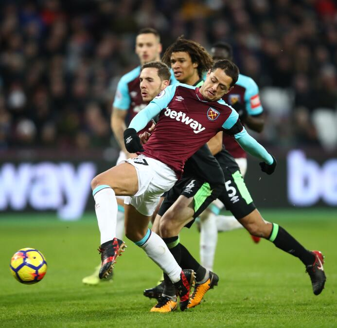 West Ham 1-1 Bournemouth: 'Chicharito' volvió a anotar en Inglaterra get...
