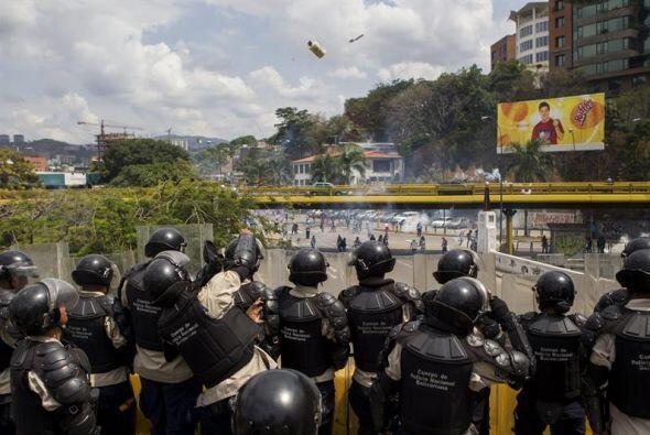 Aunque las manifestaciones han bajado de intensidad, el lunes se registr...