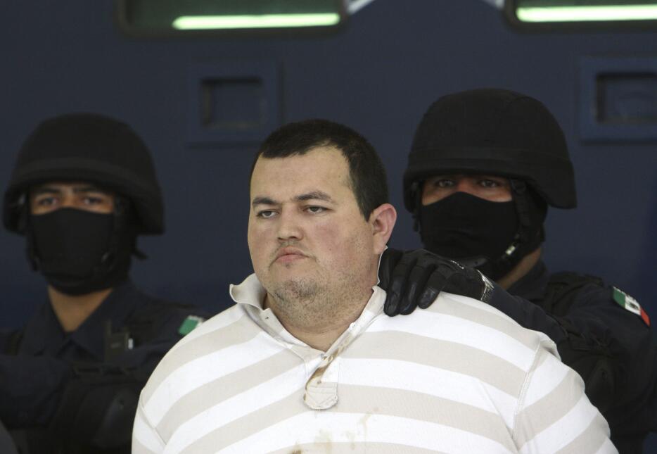 """José Manuel García Simental, hermano de """"El Teo""""."""