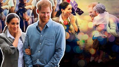 Un niño protagoniza la más tierna falta al protocolo real con el príncipe Harry y Meghan Markle