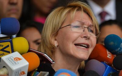 Oposición venezolana  marcha para respaldar a la fiscal Luisa Ortega