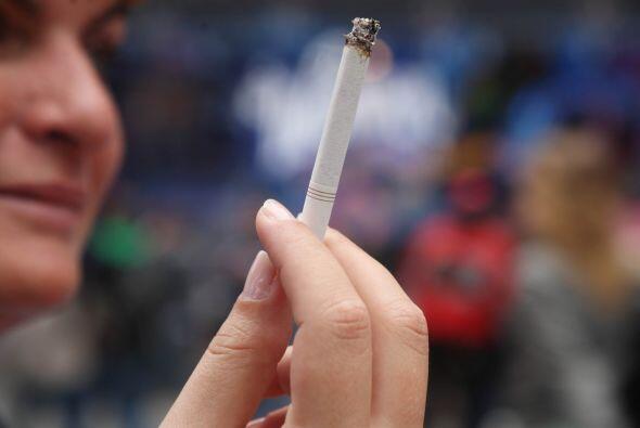 El gobierno está haciendo una fuerte campaña poara combatir el tabaquism...