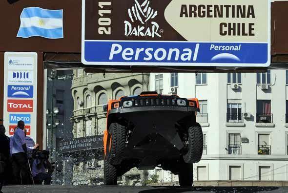 El Rally Dakar 2011 volverá a Buenos Aires al final de las 13 etapas par...