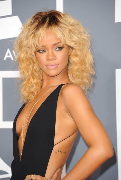Ojalá y en su programa 'Styled to Rock', Rihanna se de una ayudadita par...
