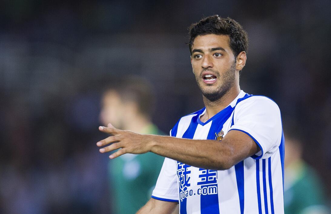 El equipo ideal de mexicanos que han jugado en la Liga de España Carlos...