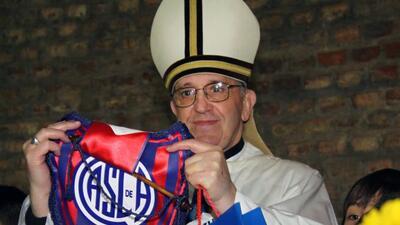 El Papa Francisco le abre las puertas al Mundial de Fútbol