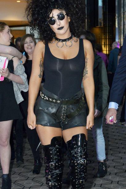 Para Lady Gaga todos los días son buenos para 'disfrazarse'