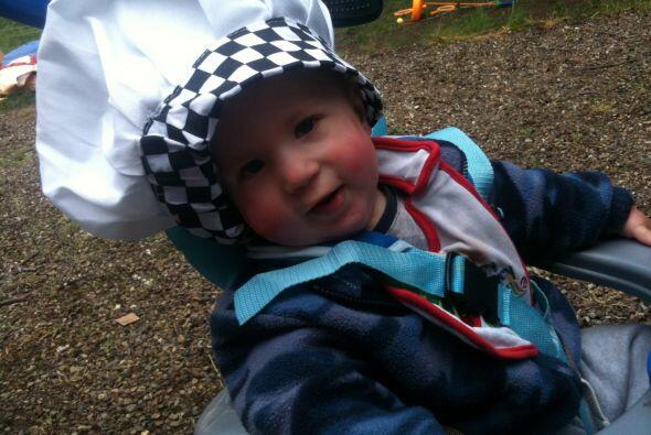 Mientras Sarah Ruane trabajaba, le tocó cuidar del pequeño Joshua Burdall.