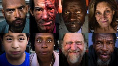 El rostro de la indigencia en California: pobreza, drogadicción y demencia