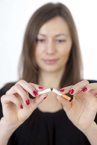 Dejar de fumar. Griselda, diseñadora de indumentaria de 29 años, eligió...