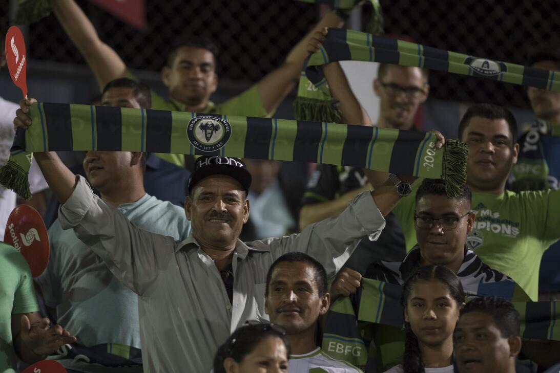 Seattle Sounders empató de visita a Santa Tecla en la ida de Concachampi...