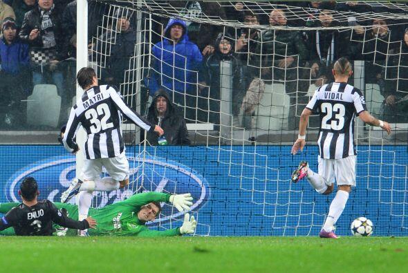 Al minuto 24 los italianos estaban aumentando su ventaja.