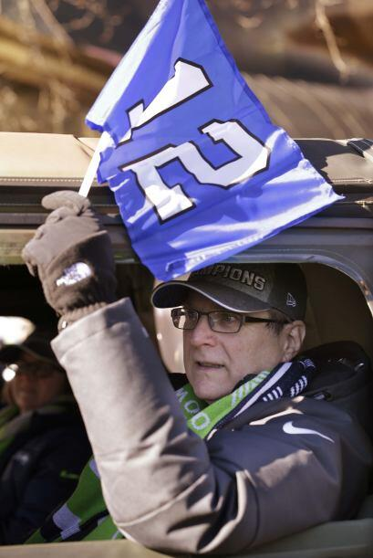 El dueño de los Halcones Marinos, Paul Allen (AP-NFL).
