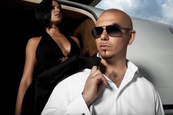"#13 Pitbull- ""Back in Time""."