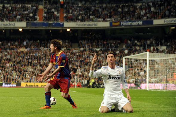 Sergio Ramos no se fue mucho al ataque como es su costumbre, pero cumpli...