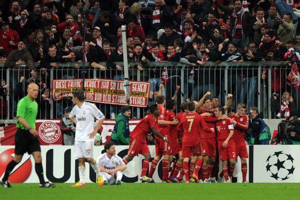El resultado final fue de 2-1 para el Bayern, pero la Vuelta será en cas...