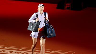 Así regresó María Sharapova con triunfo tras 15 meses de sanción por dopaje