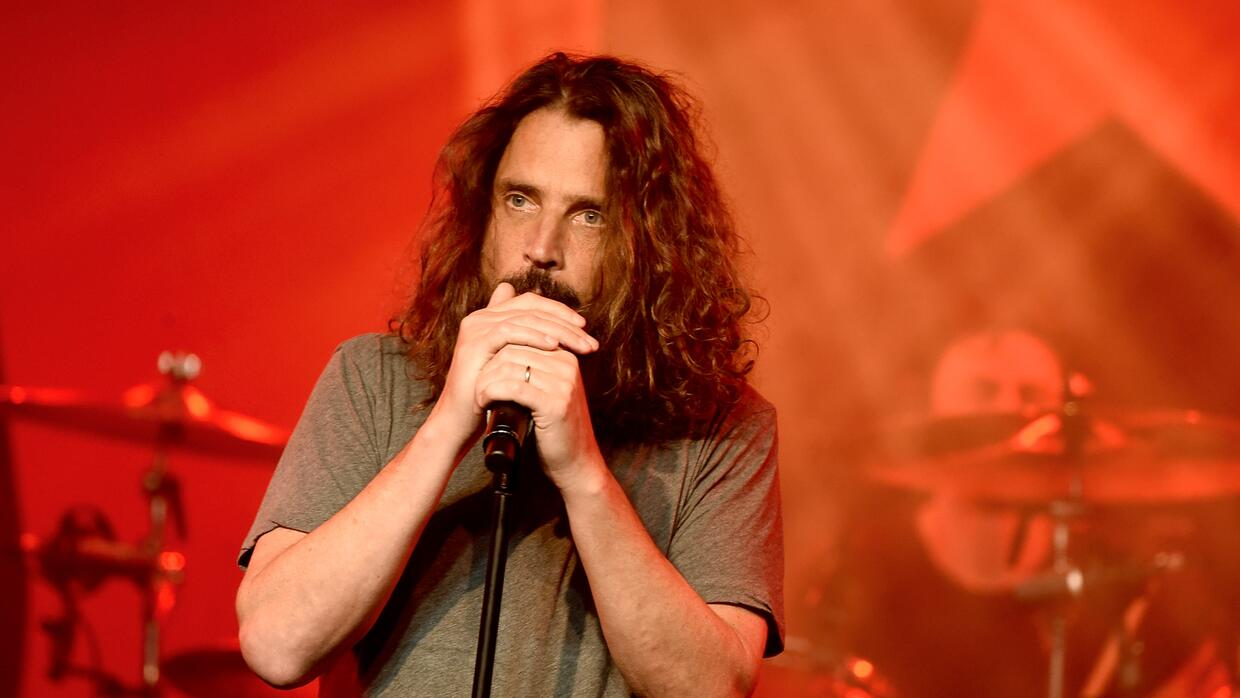 LOS ANGELES, CA - JANUARY 20: Singer Chris Cornell performs at Prophets...