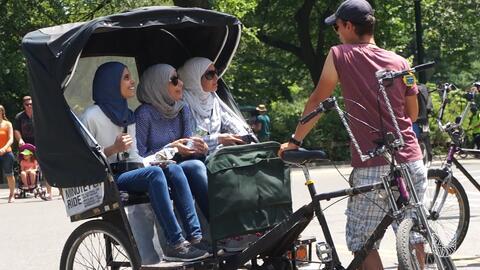 ¿Quién vive en Central Park?
