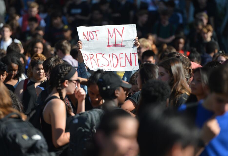 Este miércoles también manifestaron los estudiantes de la Universidad de...