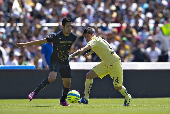 El gol cambiaría las estrategias de los dos equipos, pues Pumas perdió e...